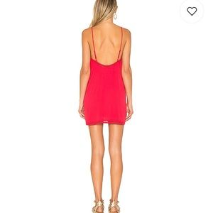 457abd25d2a6 for lovers and friends Dresses - New for lovers and friends red slip mini  dress